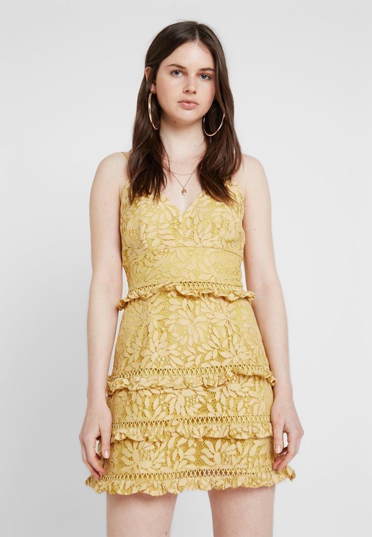 Keepsake - IMAGINE MINI DRESS - Cocktailkleid/festliches Kleid - golden yellow