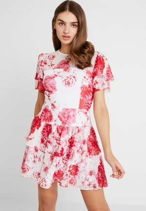 ENCHANTED MINI DRESS - Cocktail dress / Party dress - ivory