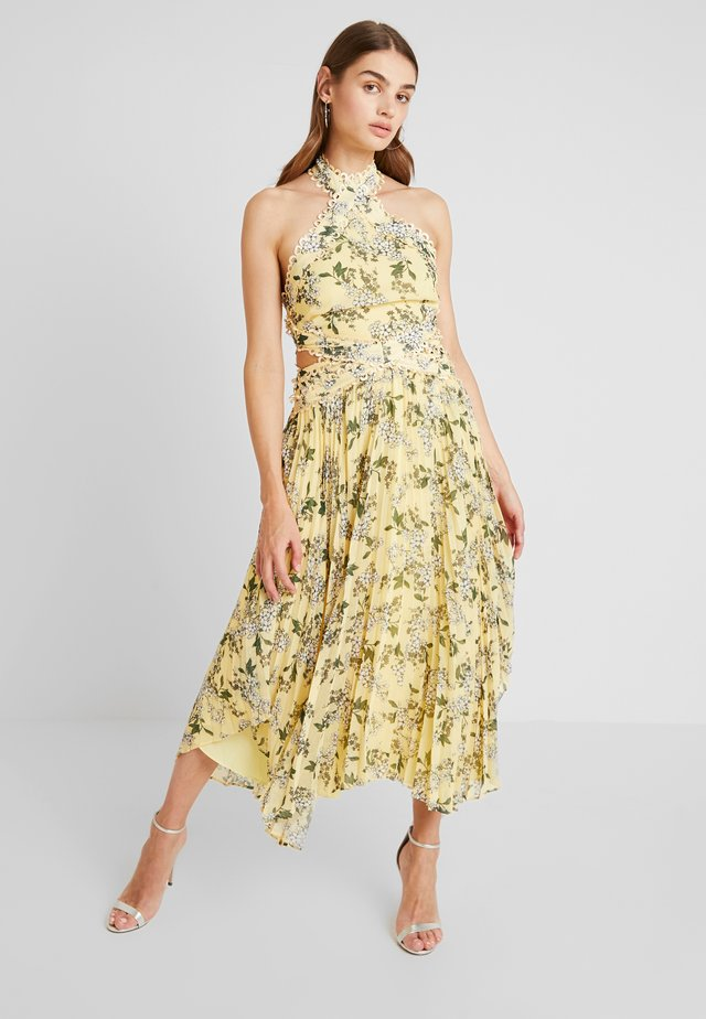 LUSCIOUS DRESS - Maxi-jurk - lemon