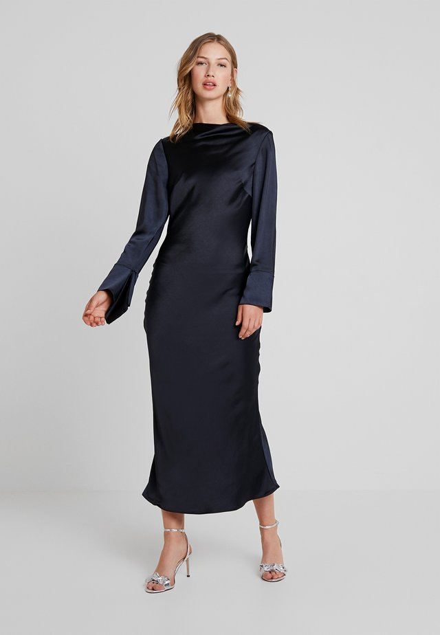 MANOR DRESS - Occasion wear - navy