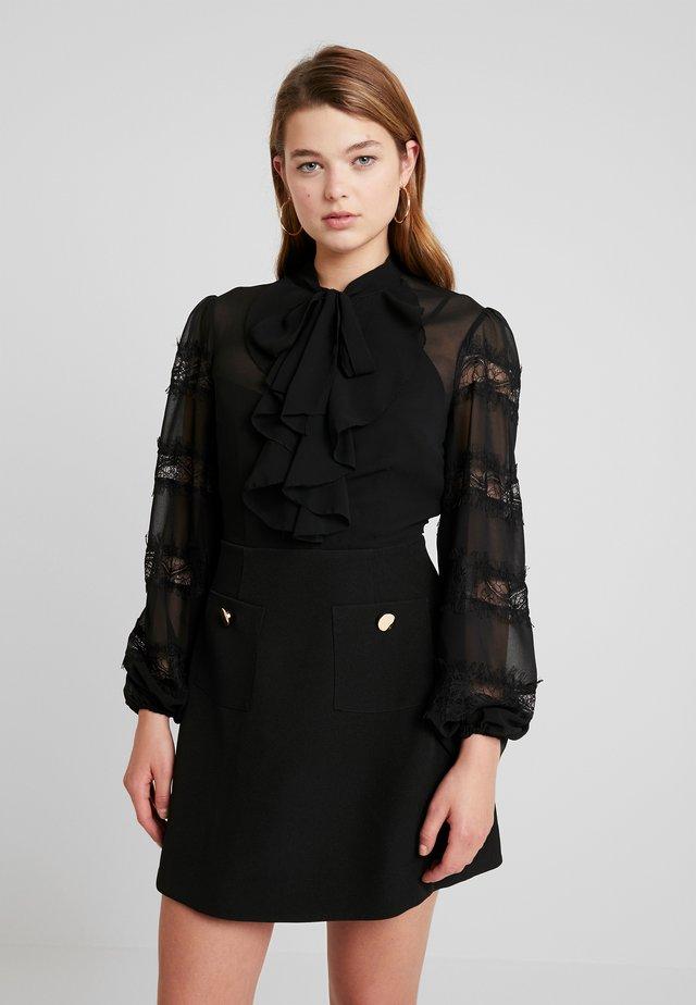 TRANQUIL DRESS - Cocktailklänning - black