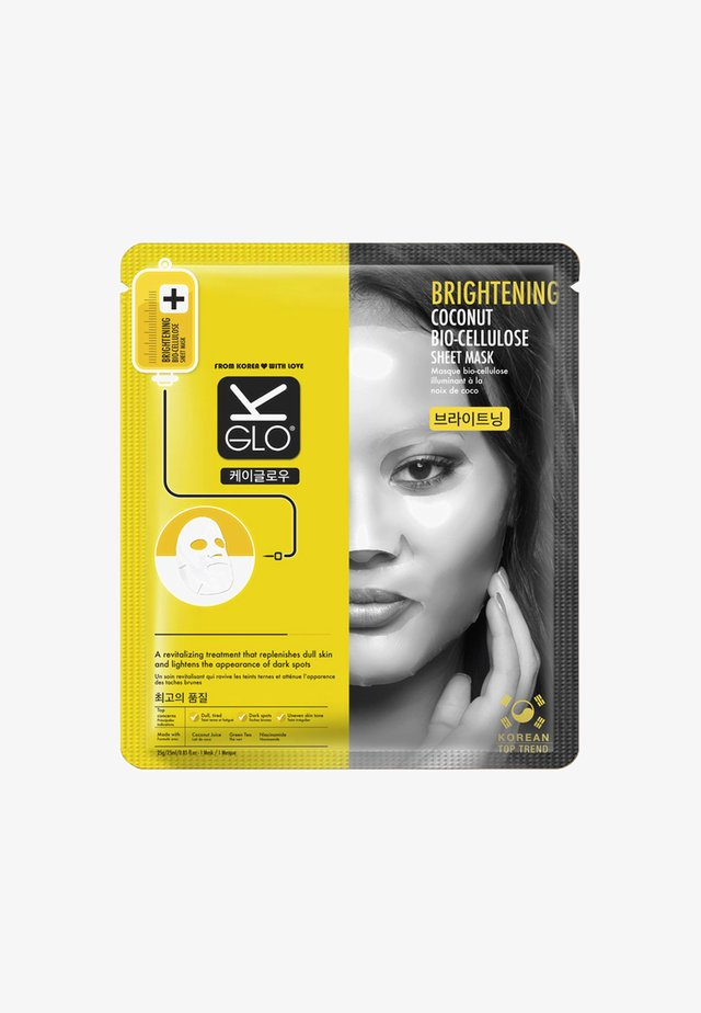 BRIGHTENING BIO-CELLULOSE SHEET MASK 25ML - Maseczka - neutral