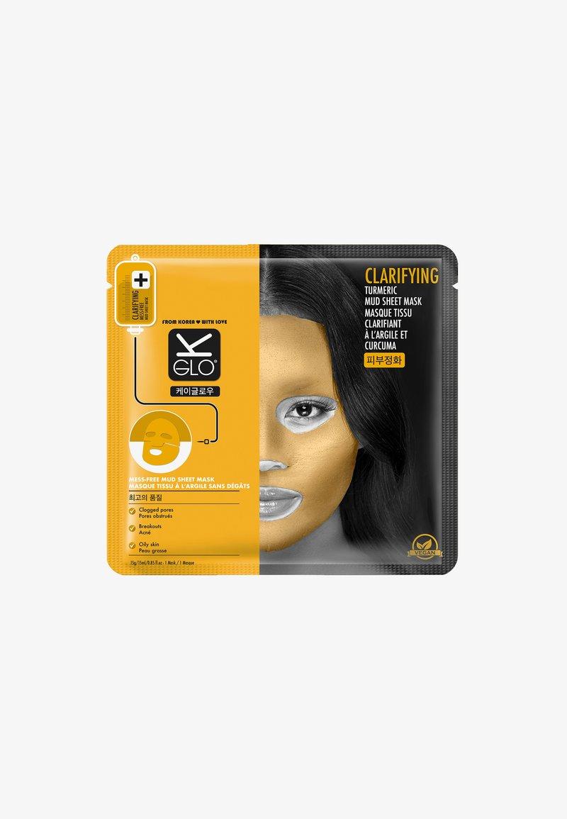 K-Glo - CLARIFYING TURMERIC MUD SHEET MASK 15ML - Face mask - mask
