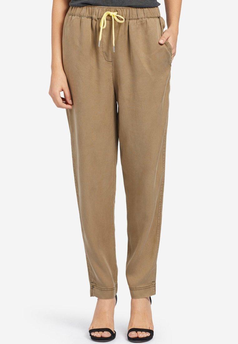 khujo - EVANGELIA - Pantalones - olive