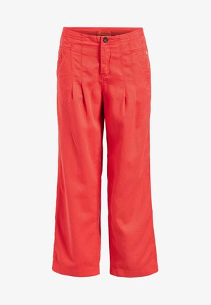 CASSANDRA - Trousers - red