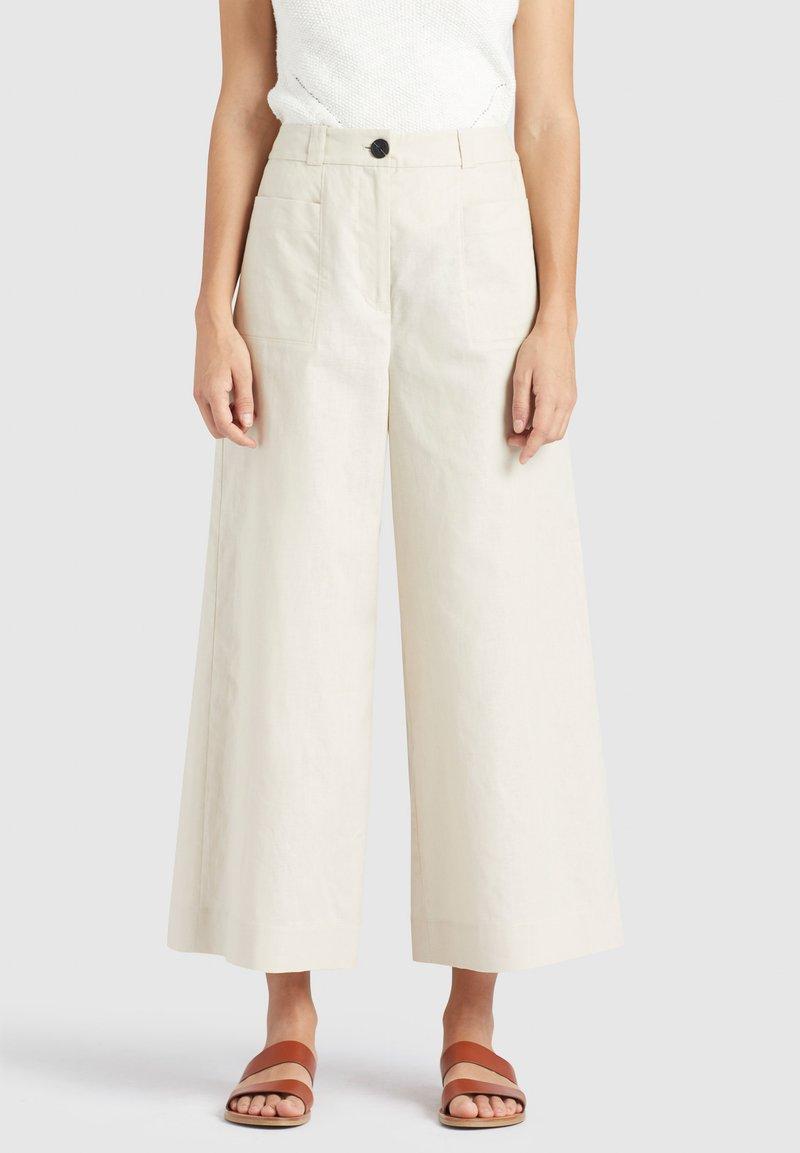 khujo - NITE - Pantalones - beige