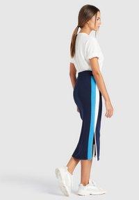 khujo - ROCK PRATA - Falda de tubo - blue/white - 4