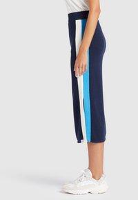 khujo - ROCK PRATA - Falda de tubo - blue/white - 3