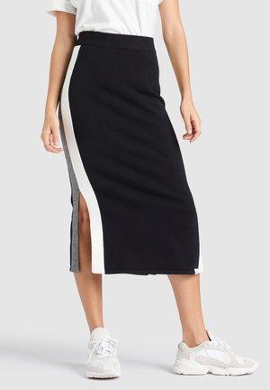 PRATA - Falda de tubo - black