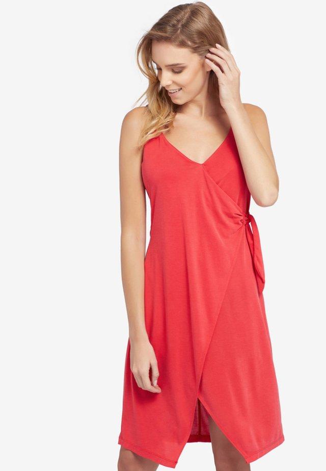 MARBLE - Sukienka letnia - red