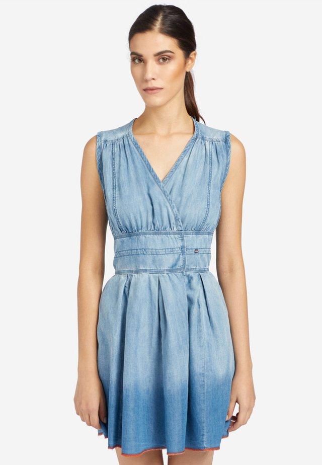 LUCA - Denim dress - blue