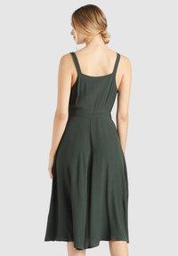 khujo - CHAVA - Day dress - dark green - 2