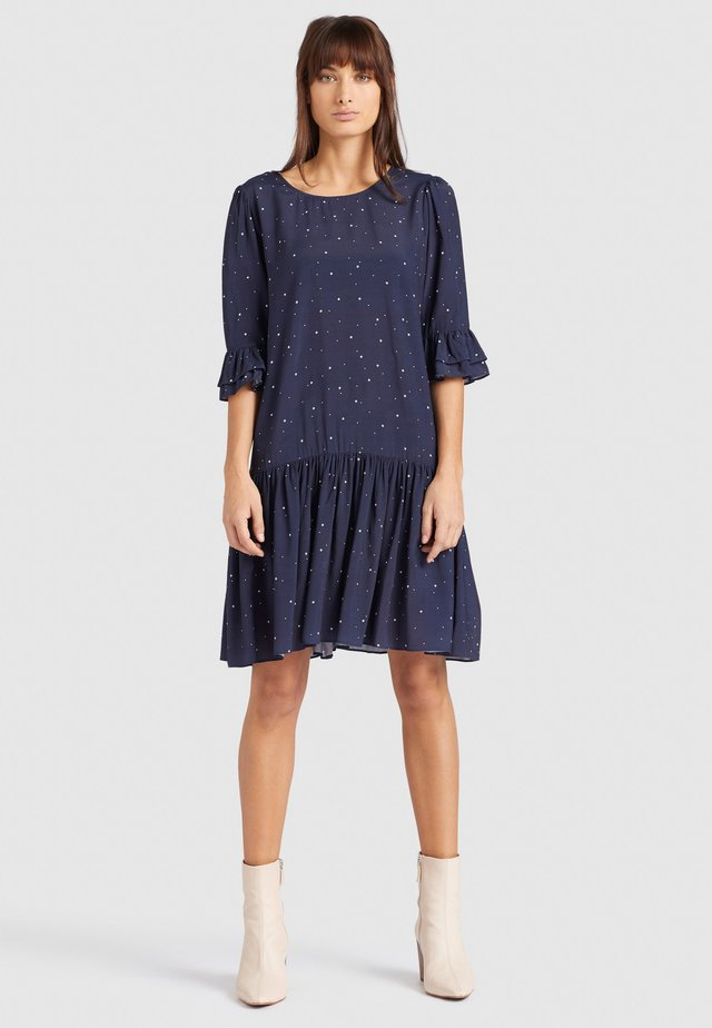 FREMA - Day dress - dark blue