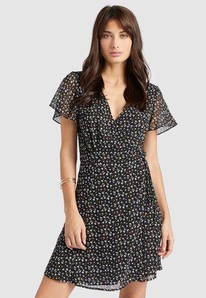 VARVARA - Korte jurk - black