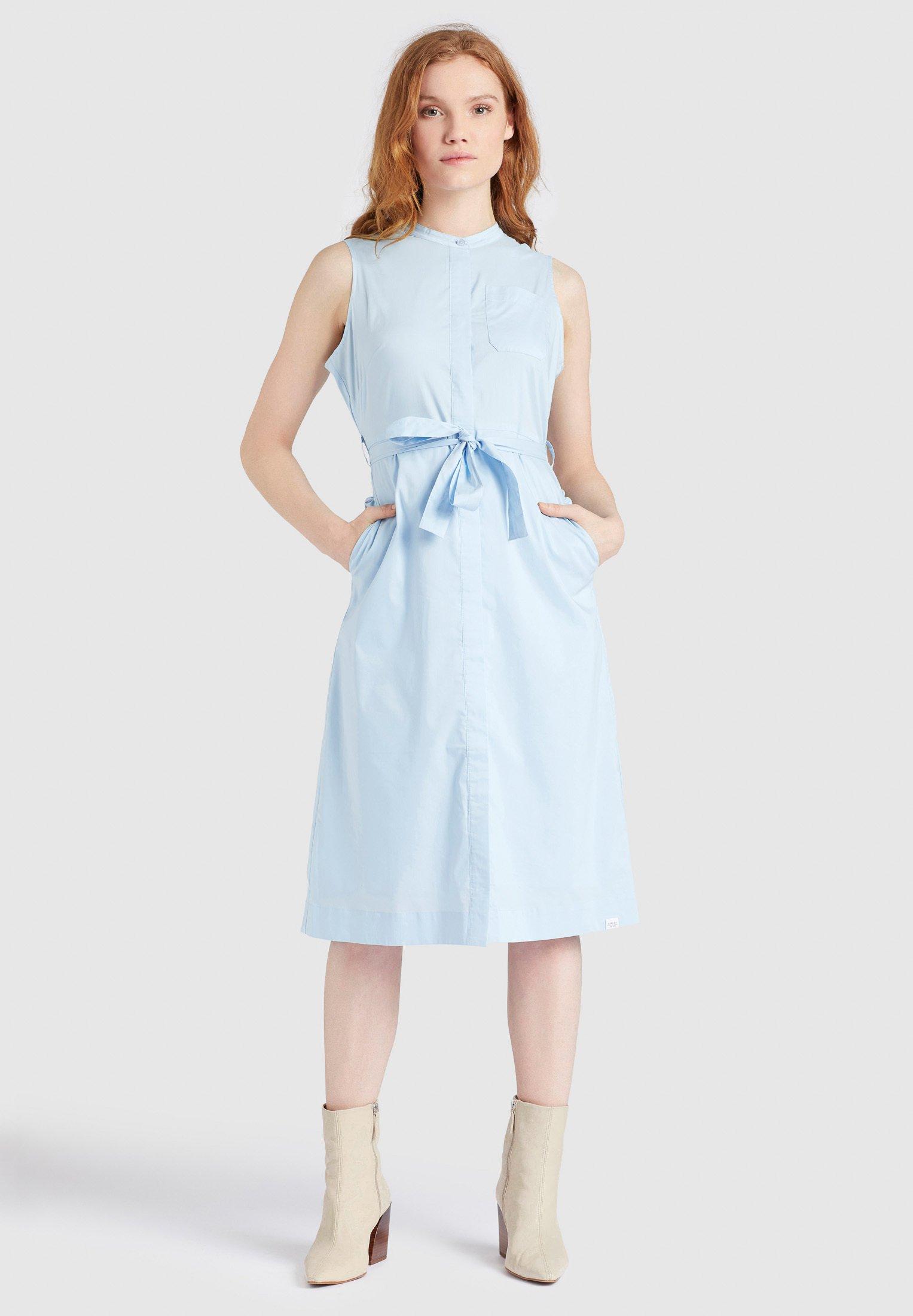 khujo THERES - Robe chemise - hellblau - Robes femme scGsG