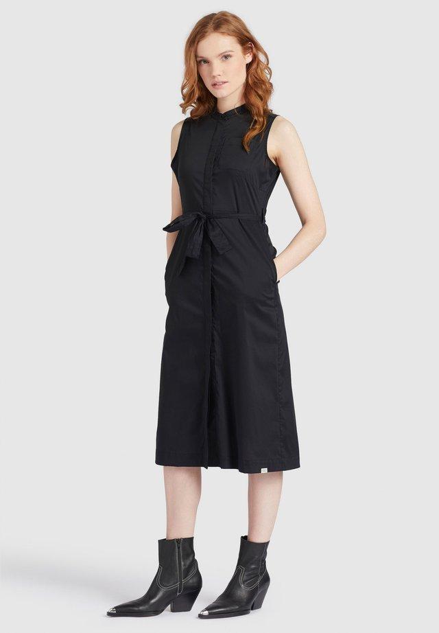 THERES - Shirt dress - schwarz