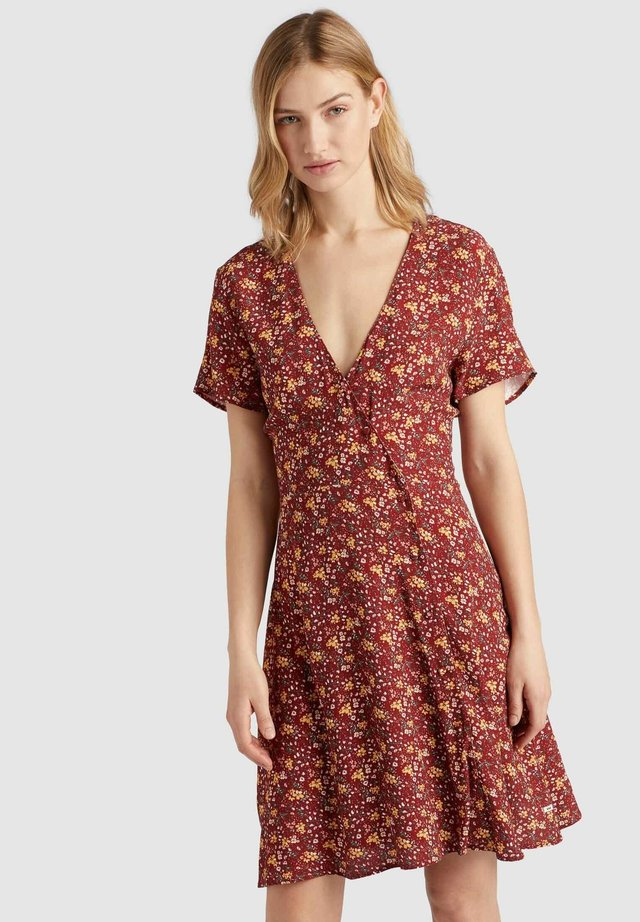 PACA - Korte jurk - red