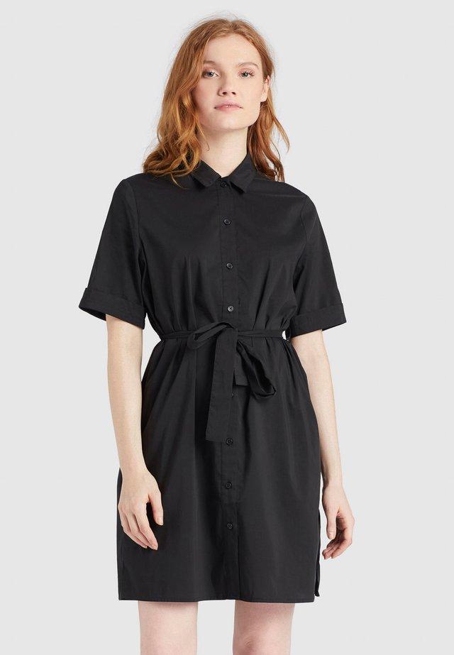 WENDY - Shirt dress - schwarz