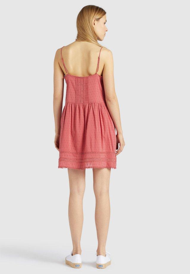 FELICITY - Korte jurk - rosa