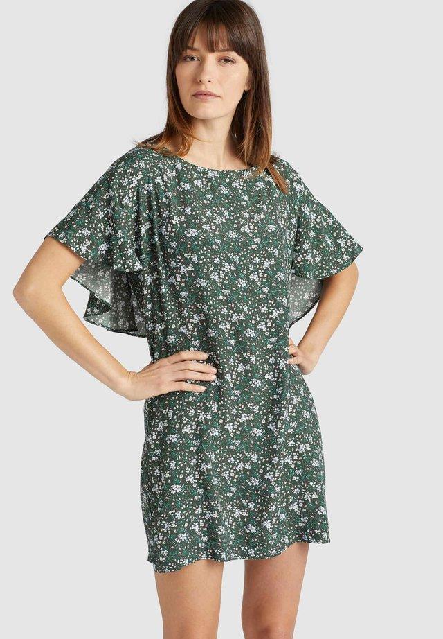 TESSY - Korte jurk - green