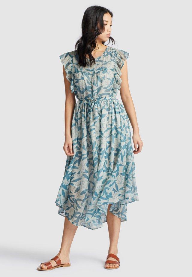 ANISA - Sukienka letnia - blue/white