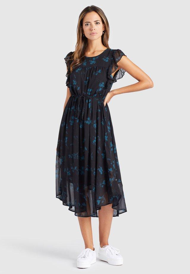 ANISA - Korte jurk - black