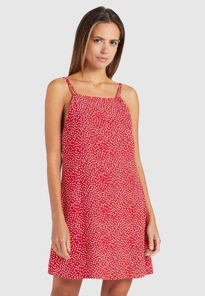 LEBONA - Robe d'été - red