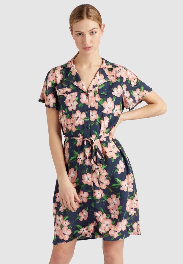 ELIZAVETA - Shirt dress - xb8 rose hawaiian floral aop