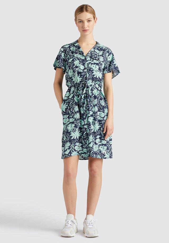 ELIZAVETA - Shirt dress - dark blue