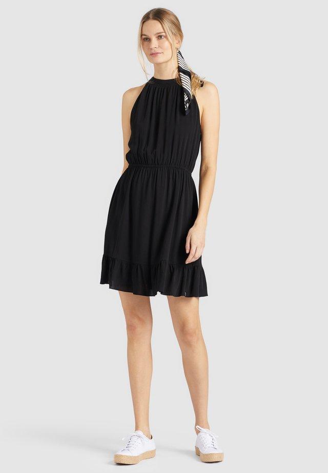 KELSA - Day dress - schwarz