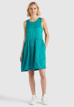 RASHAN - Day dress - blaugrün