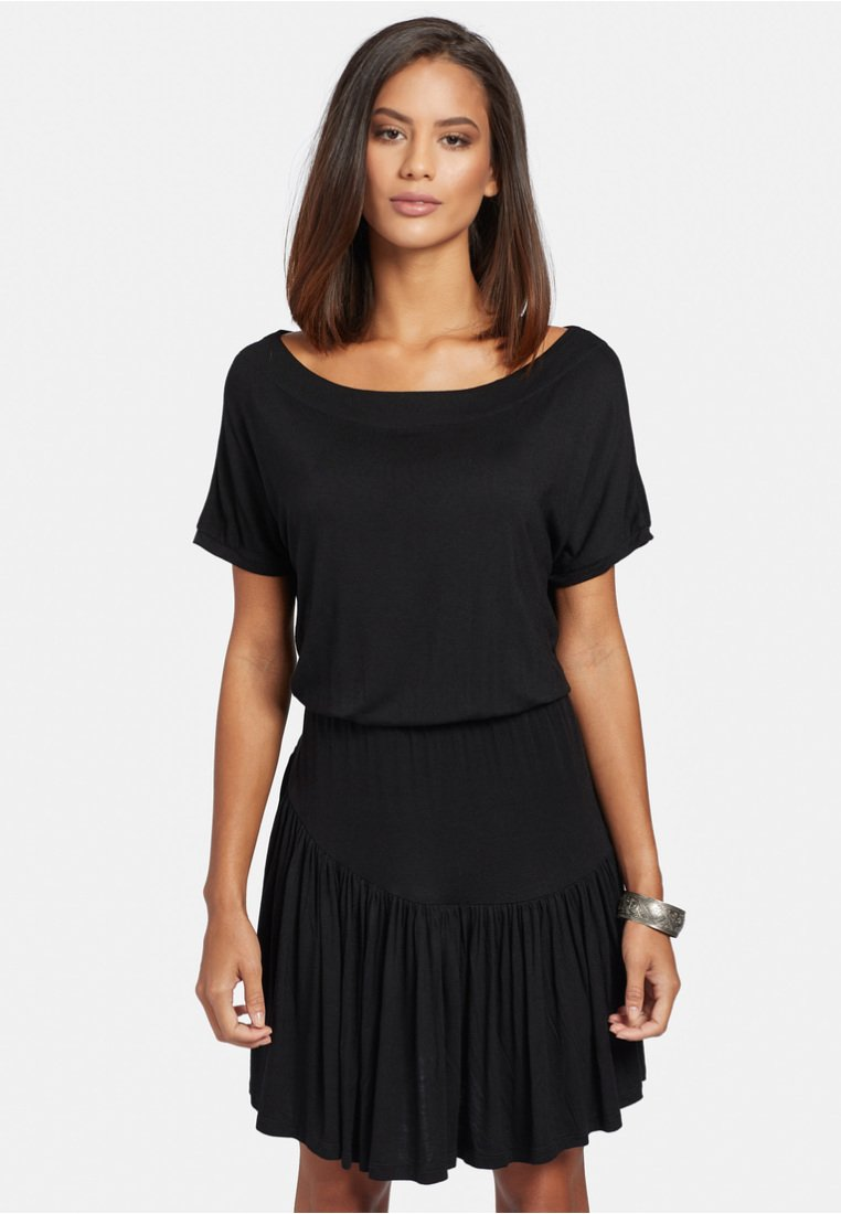 khujo - PENDARA - Jersey dress - black