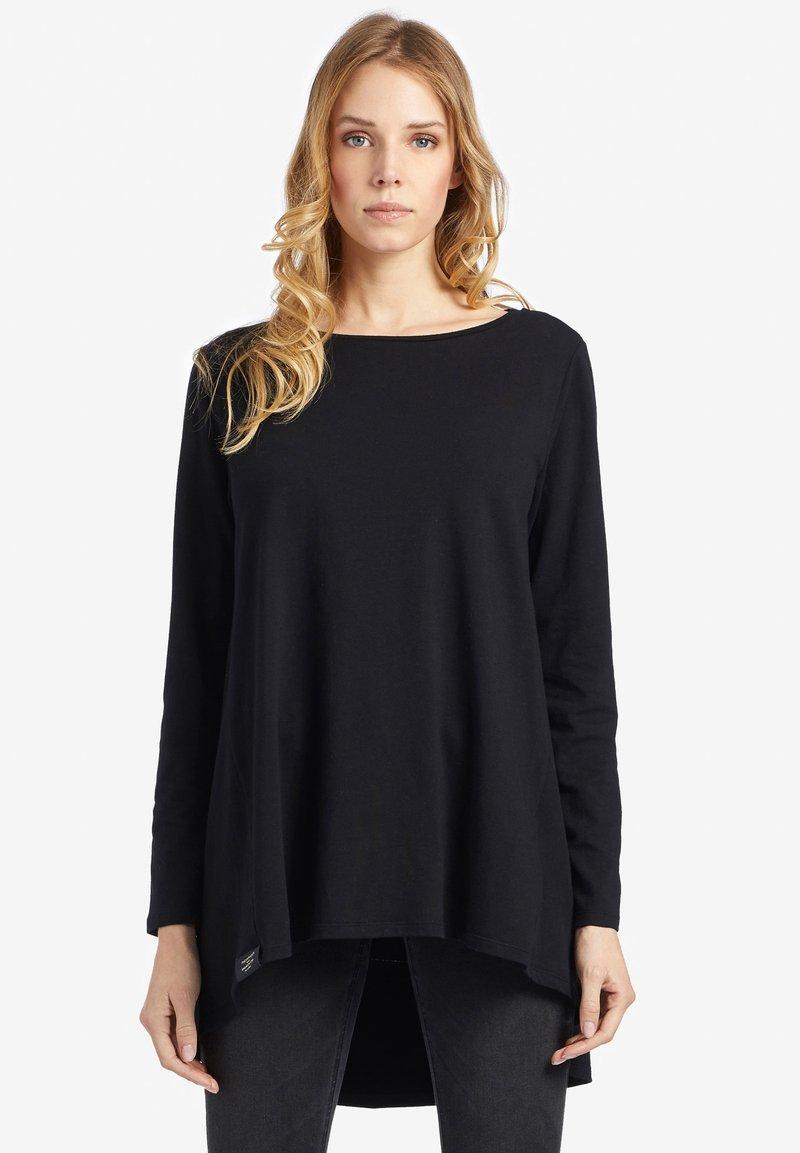 khujo - YOTTA - T-shirt à manches longues - black