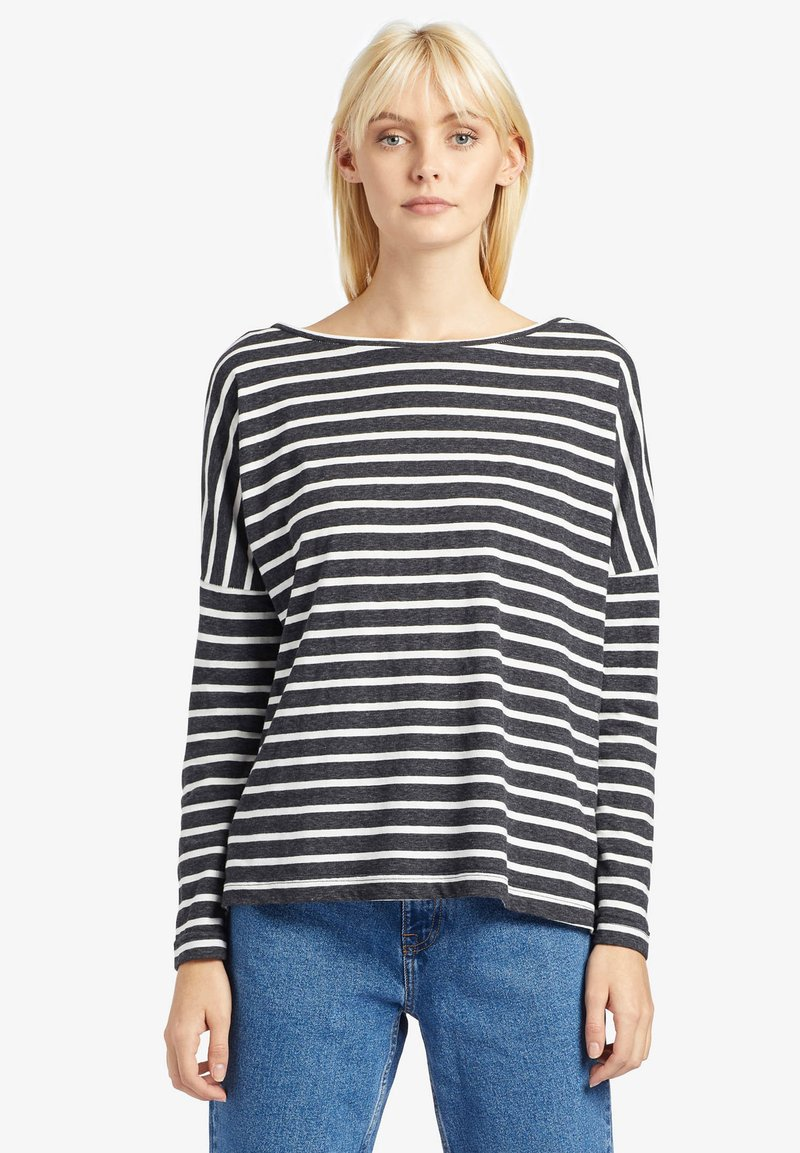 khujo - LONG SLEEVE MELLI - T-shirt à manches longues - gray