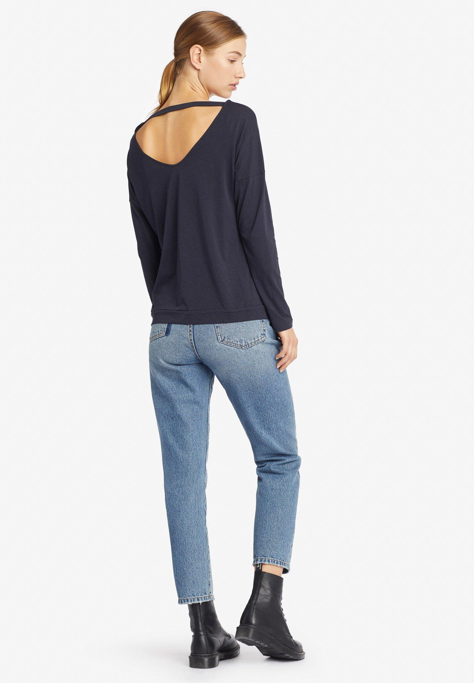 manches TASGAT longues à blue dark shirt khujo 3RjSAq5Lc4