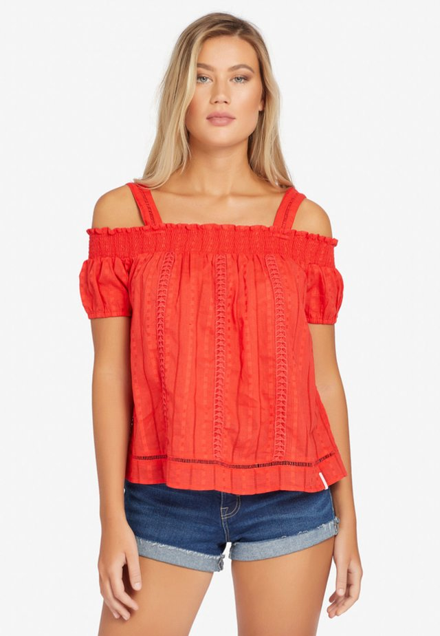BLUSE LYNNA - Camicetta - red