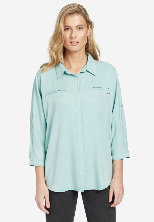 MYMA - Button-down blouse - turquoise