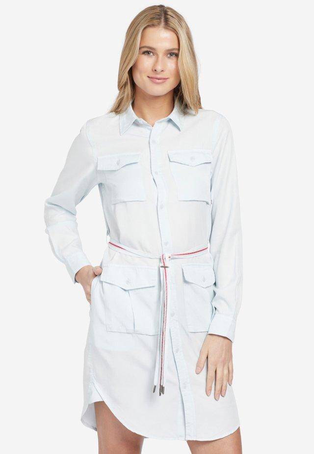 LEANNA - Shirt dress - hellblau