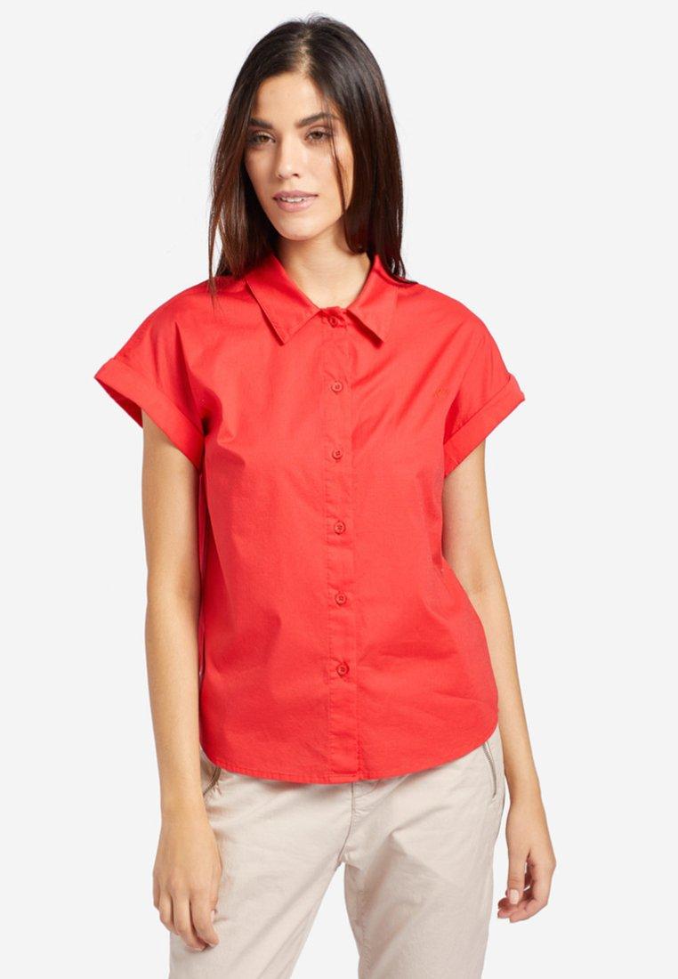 khujo - JELLO - Camisa - coral