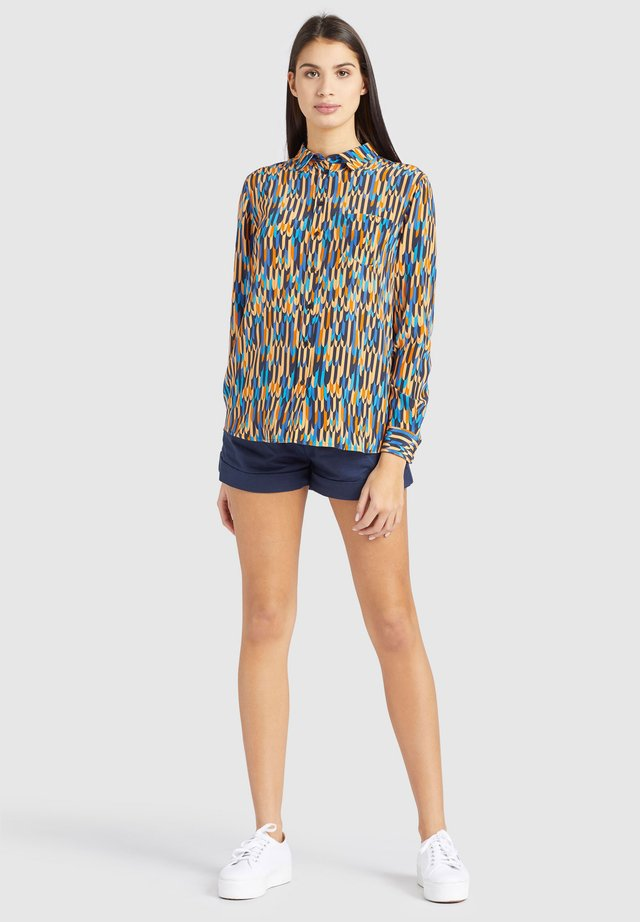 COLLINS - Button-down blouse - yellow/multi coloured