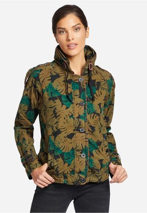 STACEY - Blouson - green Brown