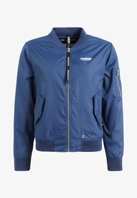 khujo - KALIA - Bomber Jacket - blue denim - 7