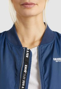 khujo - KALIA - Bomber Jacket - blue denim - 5