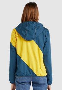 khujo - AKAMU - Summer jacket - denim blue/yellow - 2