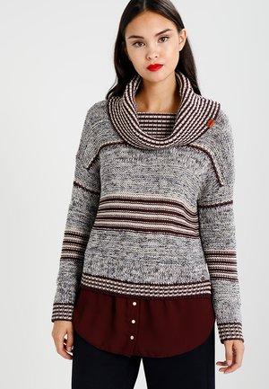 VANNI - Pullover - plumwine