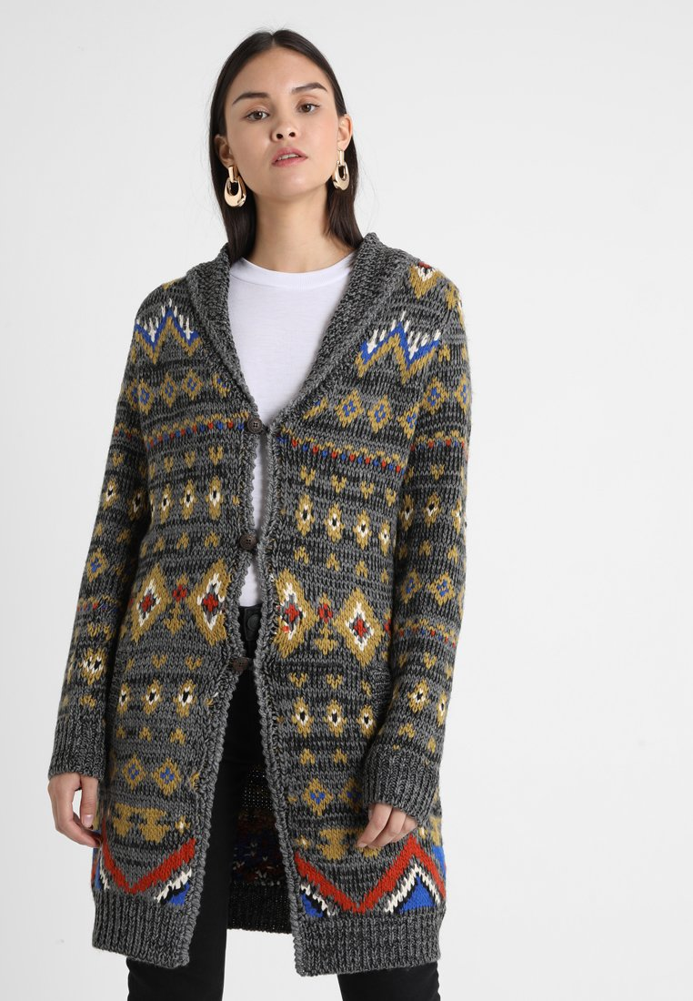 khujo - FINNA - Strickjacke - leo egyption