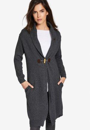 MAHA - Cardigan - mottled dark grey