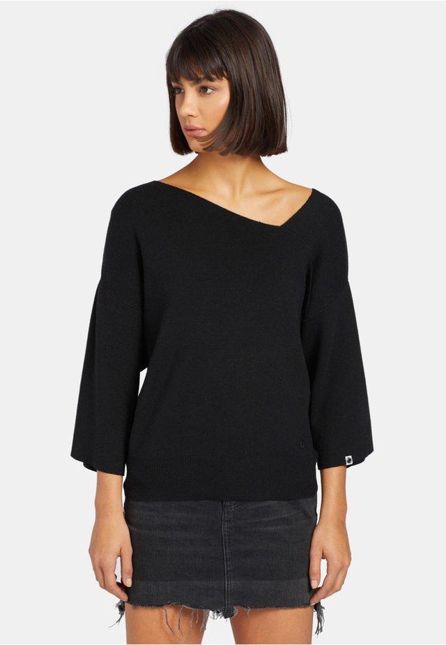 AGALIA - Jersey de punto - black