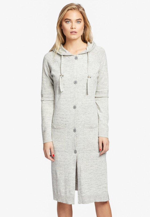 ALETA - Cardigan - mottled light grey