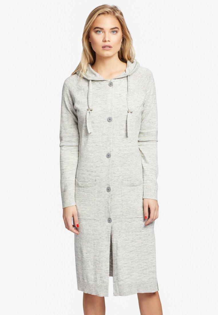 khujo - ALETA - Cardigan - mottled light grey